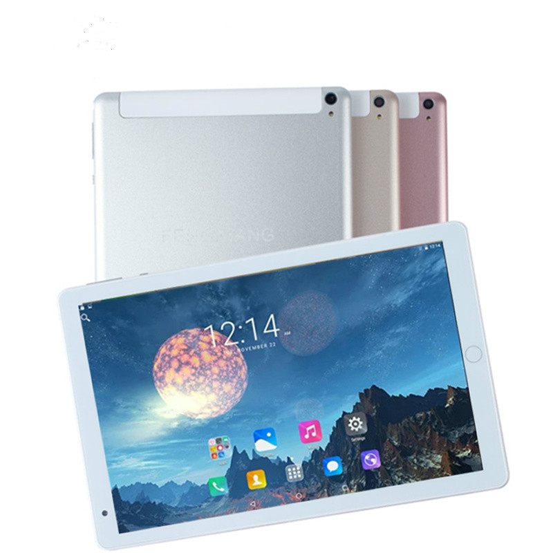 2020 Newest 10.1 Inch Tablet PC MTK6580 Octa Core 6GB RAM 128GB ROM Android 8.0 GPS 1920*1200 IPS 4G Tablet 10.1 Kids Tablet