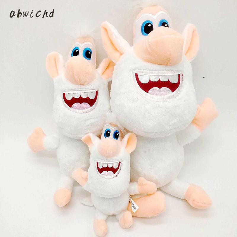 3 Size Russia Cartoon White Pig Booba Buba Plush Toys Stuffed Doll Toy Birthday Christmas Gift For Kids Children
