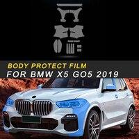 Body Door Handle Bowl Head Light TPU Protective Film Cover Trim Sticker Interior Accessories for BMW X5 G05 2019 Car