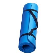 Небольшой толщиной 15 мм и прочная Циновка для йоги противоскользящие спортивные Фитнес Коврик Противоскользящий коврик для Похудение Йога...