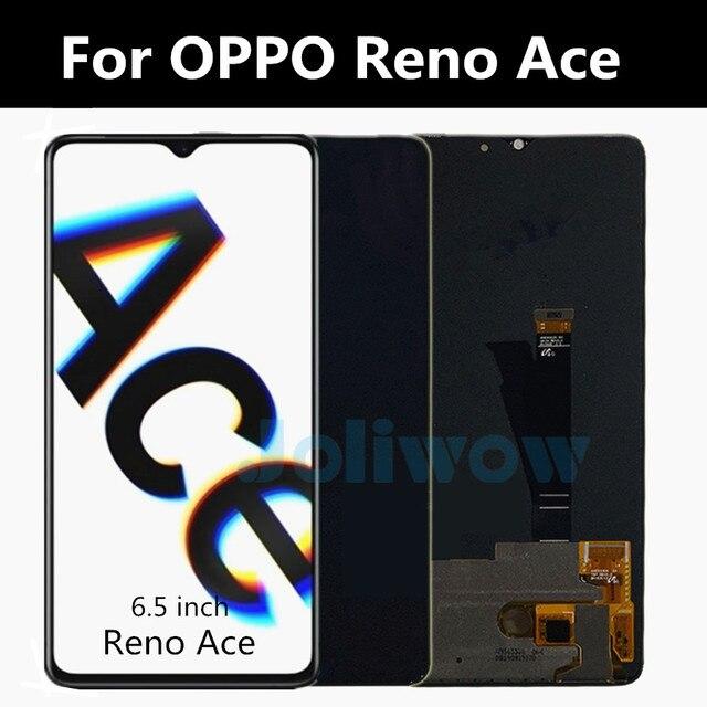 """6.5 """"Original AMOLED reno ace Für OPPO Reno Ace LCD Display Touch Screen Ersatz Zubehör Für Reno ACE LCD Bildschirm"""