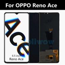 "6.5 ""orijinal AMOLED reno ace OPPO Reno Ace dokunmatik LCD ekran ekran takımı değiştirme aksesuarı Reno ACE LCD ekran"