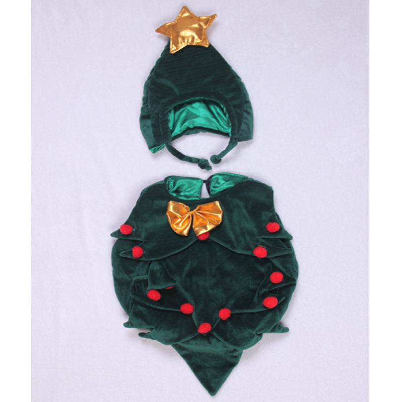 Newborn Baby Clothes Christmas Tree Cosplay Baby Girl Clothes Boy Rompers Kids Costume For Girls 0-6 Month 4