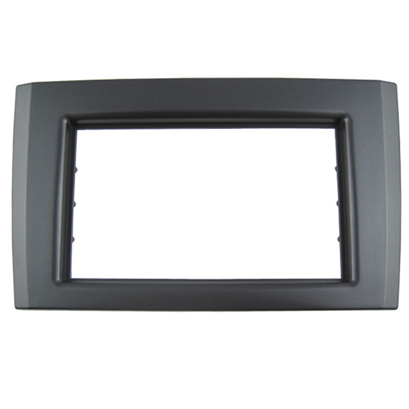 Double <font><b>DIN</b></font> Car dash Radio Fascia for <font><b>Volvo</b></font> XC90 Autostereo <font><b>Adapter</b></font> CD Trim Panel Plate Fascia Frame In Dash Mount Kit image