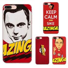 Big Bang Theory Tpu Phone Case For Apple iPhone 4 4S 5 5C 5S SE 6 6S 7 8 11 Plus Pro X XS Max XR(China)