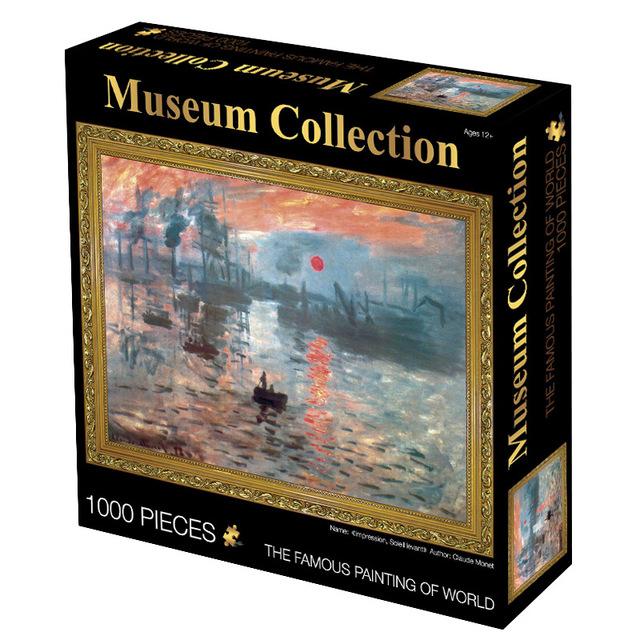 jigsaw puzzle 1000 pieces scenery Assembling picture Landscape puzzles 50*70cm toys puzzle for adults children games educational
