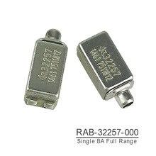 RAB 32257 Knowles BA 드라이버 IEM 평형 전기자 드라이버 수신기 스피커 전 범위