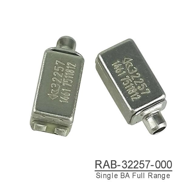 RAB 32257 Knowles BA sürücü IEM dengeli armatür sürücü alıcısı hoparlör tam kapsamlı