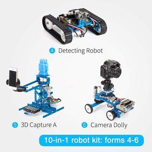 Image 5 - Makeblock Diy Ultimate Robot Kit   Premium Kwaliteit 10 In 1 Robot Stem Onderwijs Megapi Kras 2.0 Voor Kinderen, leeftijd 14 +