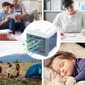Image 3 - HAVA SOĞUTUCU Fan klima nemlendirici soğutma fanı Mini USB taşınabilir masa masa Dropshipping 10 15 gün gelmesi abd ab FA
