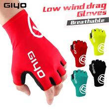 цена на Giyo Cycling Gloves Half Finger Gel Sports Racing Bicycle Mittens Women Men Summer Road Bike Gloves MTB Luva Guantes Ciclismo