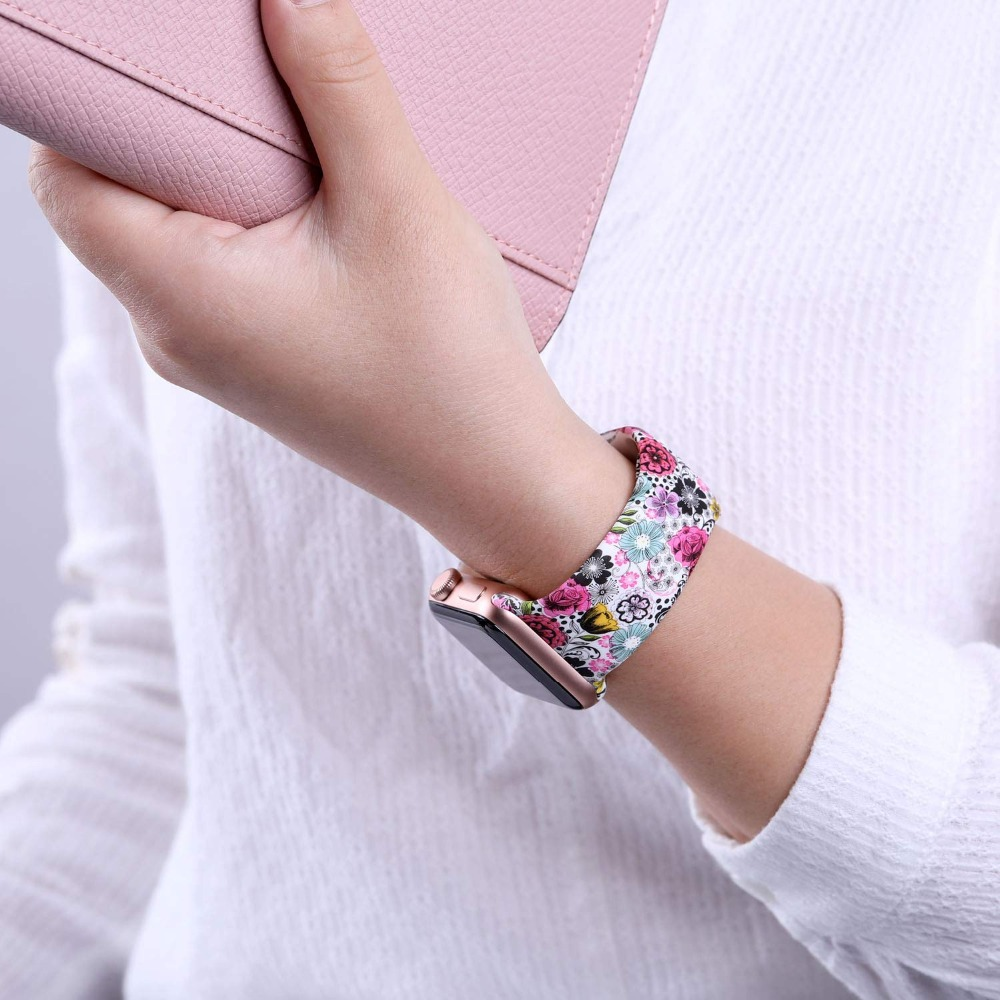 Floral Band for Apple Watch 323