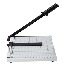 Ruler Portable Safe Steel Cutter A4 Accurate Office Practical Home Sharp Blade Paper Trimmer Photo Easy Operate