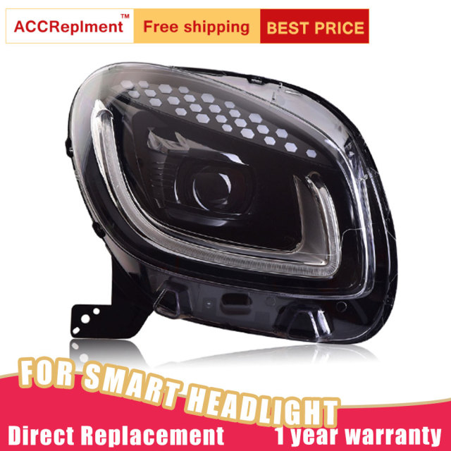 Benz Smart 2015-2019 LED Headlights 3
