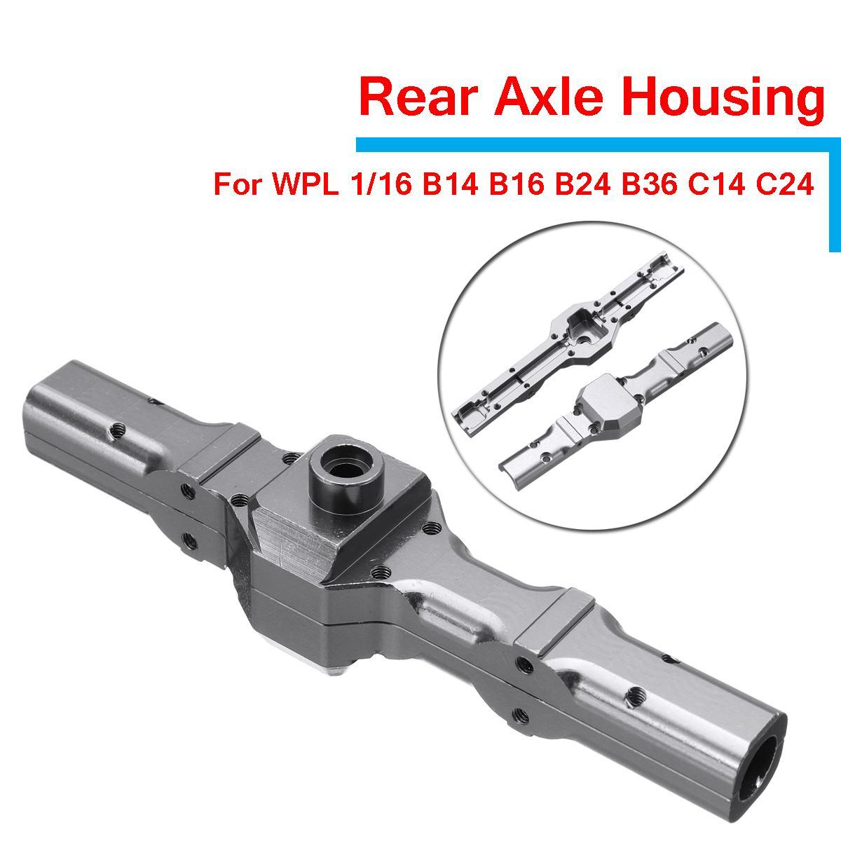 Upgrade Metall Vorne /& Hinten Axle Housing Kit für 1:16 WPL B14 B16 B36 C24 C14