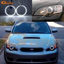 Отличные ультра яркие CCFL ангельские глазки Halo кольца комплект автомобильные аксессуары для Subaru Legacy B4 Liberty IV 2004 2005 2006