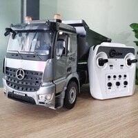 1/20 E590 lega RC camion 2.4G auto telecomandata Caterpillar modello autocarri con cassone ribaltabile trattore ingegneria automobili radio ribaltabile giocattolo ragazzi