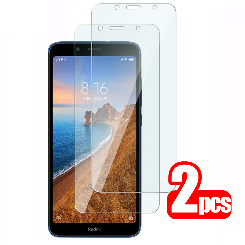 2pcs Protective Glass Redmi 7a Screen Protector For Xiaomi Redmi 7a Tempered Glass Xiomi Xaomi Redmi7a Redmi7 7 A A7 Safety Film