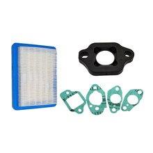 3 adet conta seti karbüratör Carb izolatör ve hava filtresi HONDA GCV135 GCV160 GC135 GC160 IZY / XL500