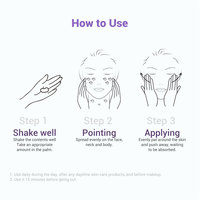 LANBENA Purple Whitening Uv Sunscreen Cream SPF50+ Face Sunblock Body Sun Protection Solar Lotion Moisturizing Daily Care 40ml 6