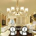 Светодиодные люстры из цинкового сплава  хрустальные люстры для гостиной  светодиодные подвесные люстры  светильники для столовой  подвесн...
