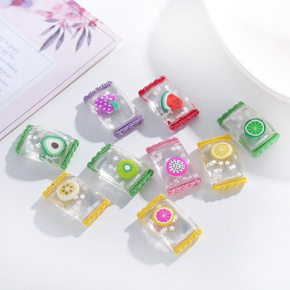 Charms For Slime Colorful Candy Polymer Filler Slime Addition Toy For Kids Children Charms Lizun Modeling Clay DIY Accessories