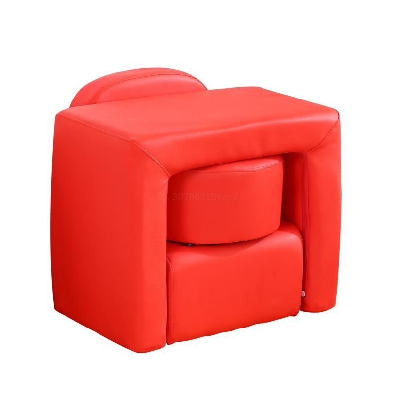 Children sofa seat leather removable and washable combination study table and chair cute baby single mini sofa bench