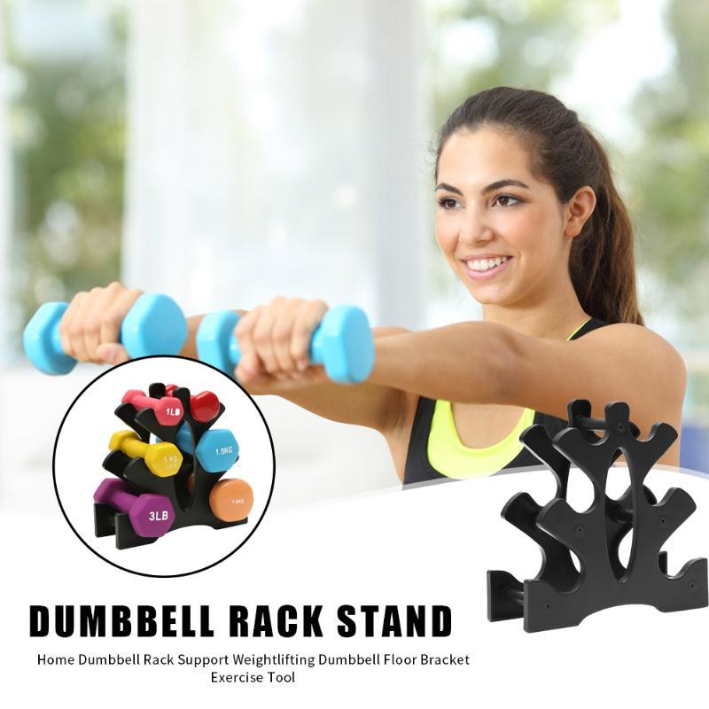 Weightlifting Dumbbell Rack Bracket Weight Support Dumbbell Floor Bracket Home Durable Sports Equipment Supplies