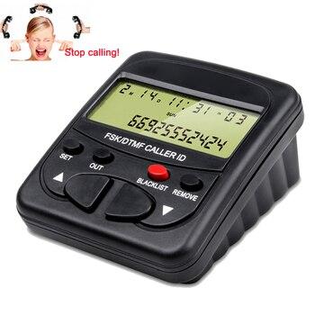 Call Blocker for Landline Phones with Caller ID Display Block Hidden Numbers, Telemarketer Calls, Nuisance Calls &All Spam Calls