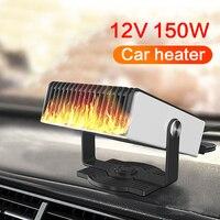 Novo aquecedor de carro ventilador janela do pára brisas demister 12 v portátil aquecedor defloster neve escritório em casa aquecedor inverno acessórios do carro|Aquecimento e ventiladores| |  -