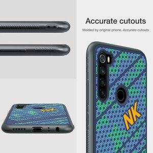 Image 5 - Voor Xiaomi Redmi Note 8 Case Cover NILLKIN Striker Case 3D Textuur TPU Siliconen Zachtheid Back Cover Voor Xiaomi Redmi note 8 pro