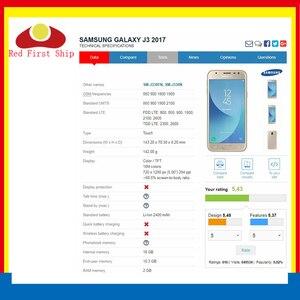 Image 2 - 10 sztuk/partia ekran dotykowy do Samsung Galaxy J3 PRO 2017 J330 J330F SM J330FN SM J330F/DS Panel dotykowy przedni zewnętrzny obiektyw LCD szkła