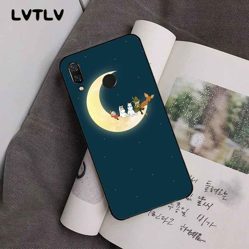 LVTLV moomin hipopótamo Dos Desenhos Animados Bonito Caixa Do Telefone para Xiaomi Redmi4X 6A 7A 5 5Plus Note4 4X Note5 7 Note6Pro
