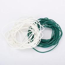 Cuerda de goma OAR DIY, accesorios hechos a mano, pulseras y collares para fabricación de joyas