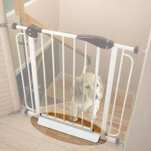 Baby Pets Children Safety Door Gate Protection Security Stair Way Safety Fixed Board For Door Fence Extra Wide Tall Lock Walk(China)