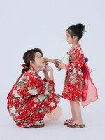 2019 Children's Japanese Style Print Nightdress Summer Cotton Puff Sleeve Dress Princess Pajamas For Girls Kids Home Cloth ZL156