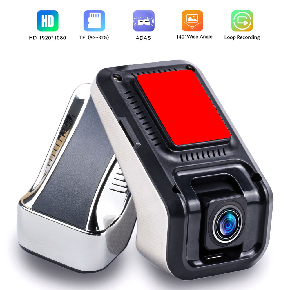 Dvr Dash Cam 1080P Dash Kamera Auto USB DVR ADAS Dashcam Android Auto Recorder Camara Nacht Version Auto Recorder