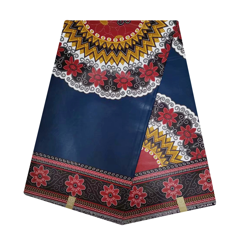 Blue Cheap African JAVA Wax Prints Fabric Ghana Wax Pange Real Super Java Wax Print Materials Nigerian Dutch Wax Tissue Batik