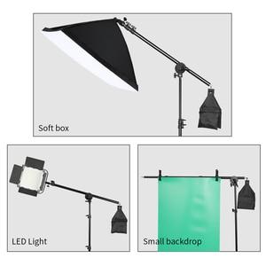Image 5 - Phòng Thu Ảnh Kính Thiên Văn Bùng Nổ Cánh Tay Trên Giá Đỡ Với Bao Cát Cho Đèn Speedlite /Mini Đèn Nhấp Nháy/Softbox/LED video