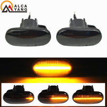 2Pcs LED indicatore di direzione laterale dinamico sequenziale per Honda Prelude Civic CRX Del Sol Fit Accord Integra S2000 AP1 AP2 S2K