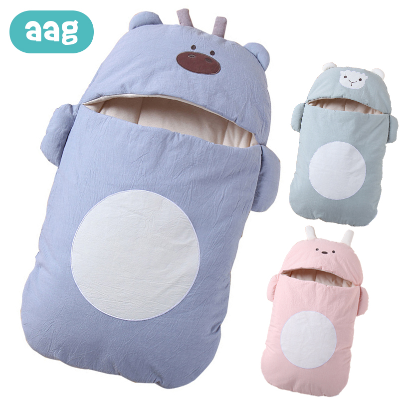 AAG Winter Warm Envelope For Discharge Baby Sleeping Bag Sack Diaper Cocoon For Newborns Maternity Hospital Discharge Kit