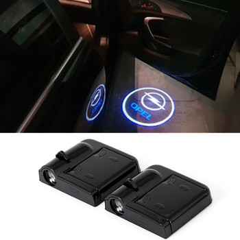 цена на LED 3D Laser Logo Projector Car Door Light For Opel Astra H G J Corsa D C B Zafira Vectra C Mokka Meriva Omega Vivaro Insignia