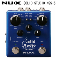 NUX NSS5 Solid Studio IR & Power Amp Simulator Pedal guitar amp pedal speaker effect pedal