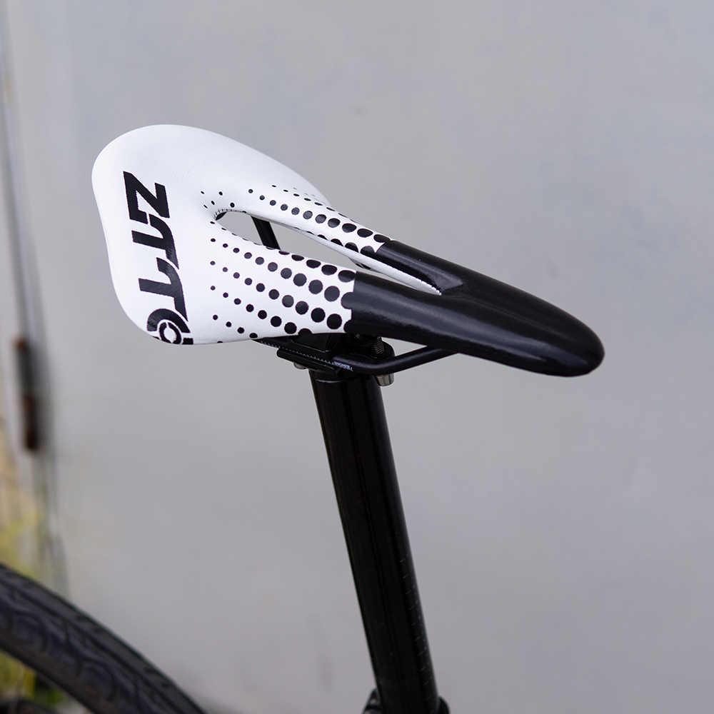 ZTTO 183g ultra-léger vélo selle large creux vélo course siège pour vtt montagne route vélo lumière comparer avec la Fiber de carbone