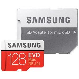 Image 4 - SAMSUNG EVO + מיקרו SD 32G SDHC 80 mb/s כיתה Class10 זיכרון כרטיס C10 UHS I TF/SD כרטיסים trans פלאש SDXC 64GB 128GB עבור חינם