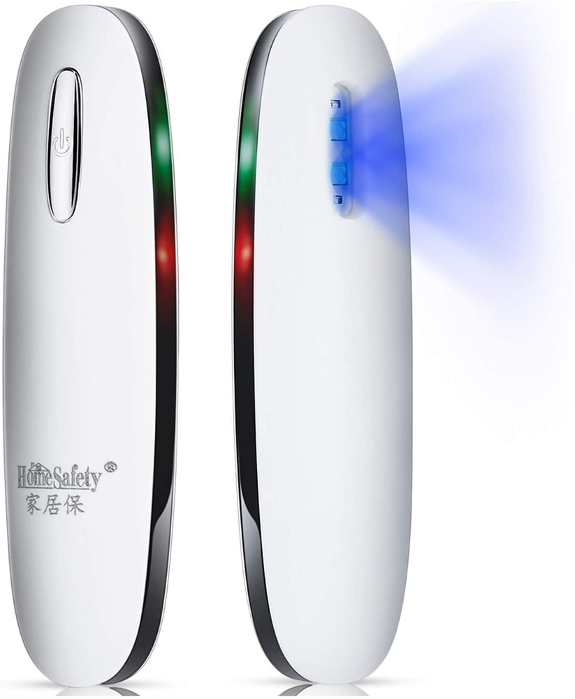 UV-C Light Mini Sanitizer Travel Disinfection Lamp Antibacterial Lamp 99% Killing Mold, Bacteria, Viruses and Dust Mites Uv Bulb
