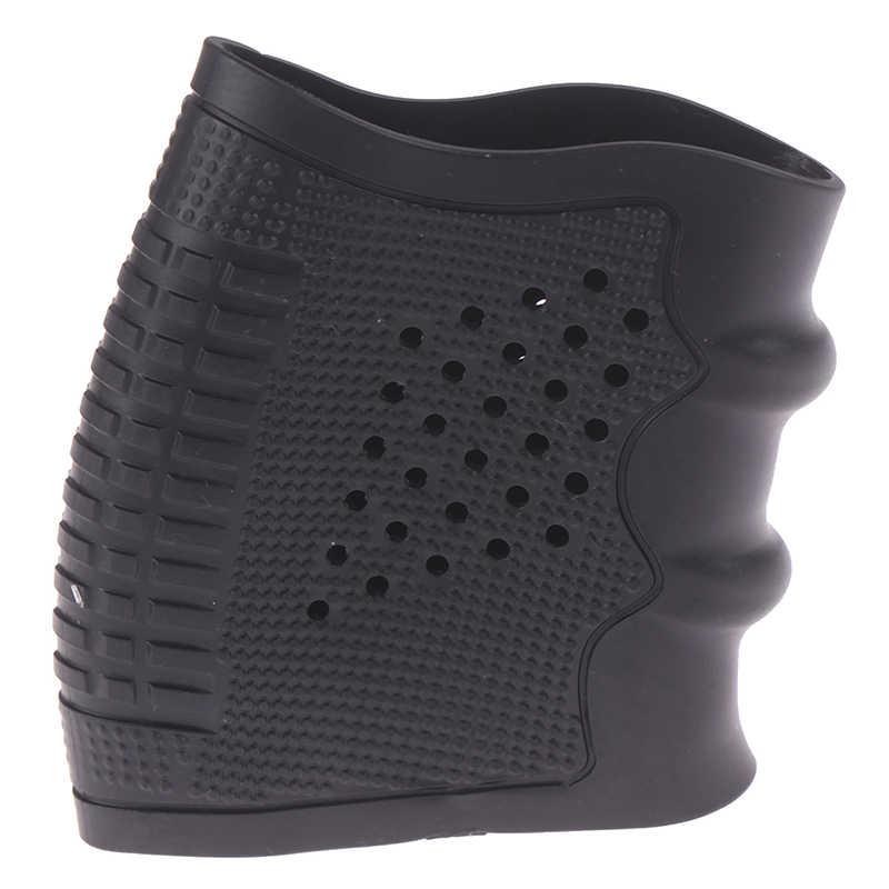 戦術の拳銃保護カバーグリップグローブタクティカルホルスターグロック狩猟黒銃アクセサリー 1pc