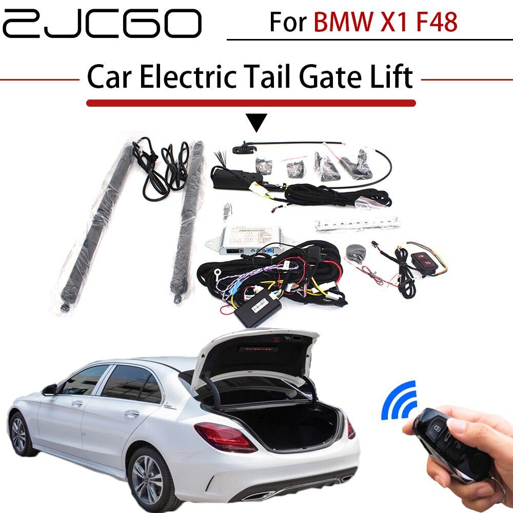 Купить zjcgo автомобильный электрический хвост ворота лифт багажник