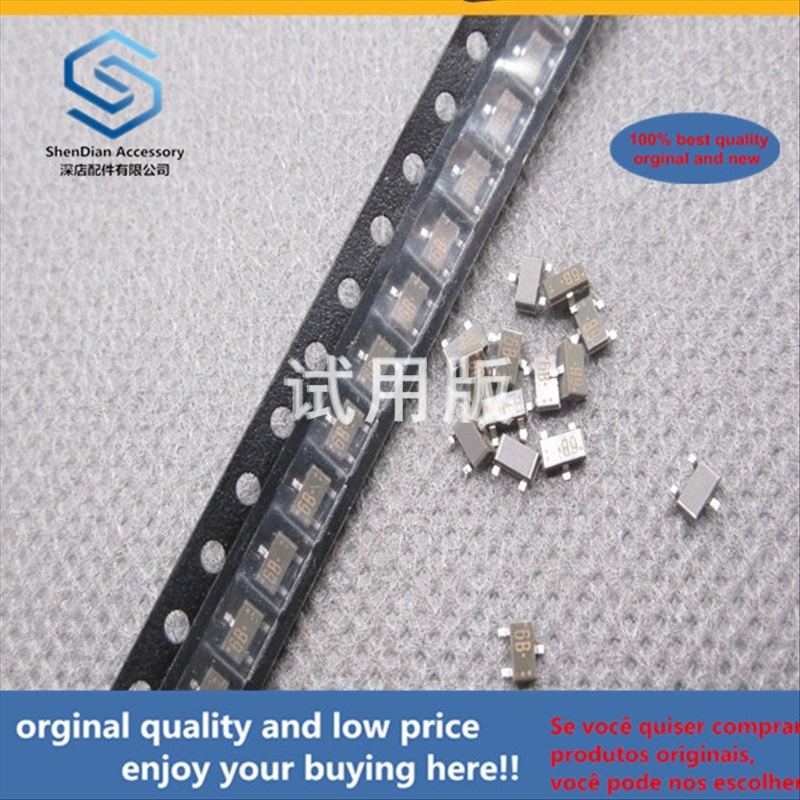 50pcs 100% Orginal New Best Quality UN2112-TX PNP Bipolar Transistor 200mW 50V Silk Screen 6B MUN2112 SOT23