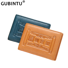 Driver License Holder Genuine Leather Cover for Car Driving Business Credit Cards Cover Holder Thin ID Card Case Wallet Unisex jinbaolai driver license holder leather cover for car driving documents business card holder id card holder
